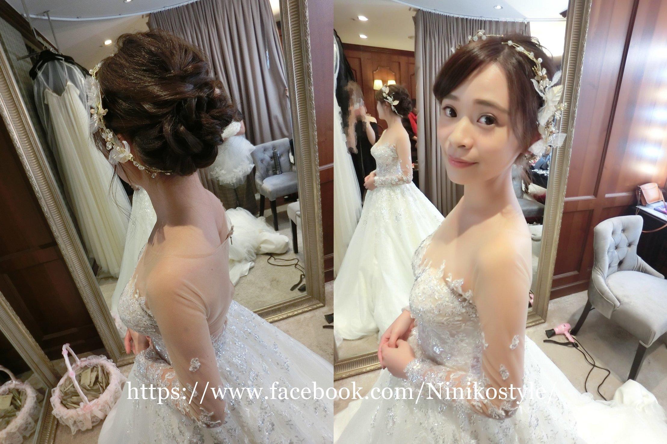 新娘,秘書,髮型,禮服